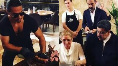 Banquete de Nicolás Maduro en el restaurante del famoso chef turco Salt Bae indigna a venezolanos