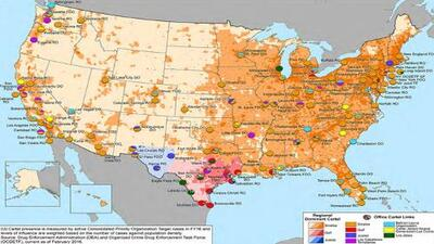 'El Chapo' amplió su control territorial en Estados Unidos a pesar de estar en la cárcel, según la DEA