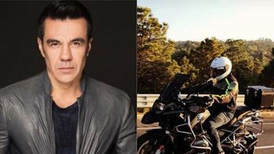 Adrián Uribe ahora es un sexy motociclista al ritmo de 'Earth, Wind & Fire'