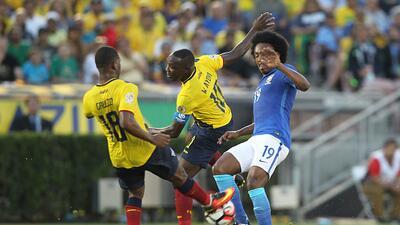 El respeto, la clave del empate ecuatoriano frente a Brasil