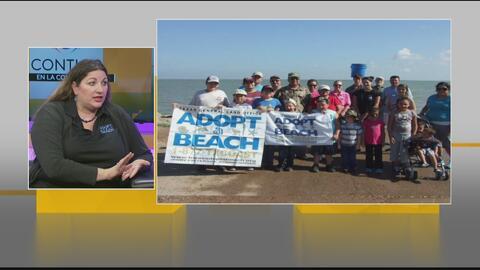 Movimiento para mantener limpias las playas de Texas involucrando a la comunidad