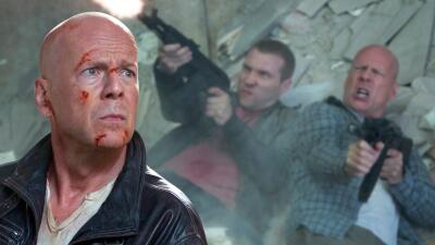 Bruce Willis en su personaje más 'duro de matar'