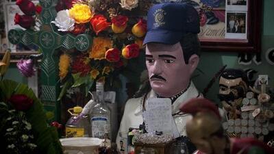El santuario de Malverde en Sinaloa