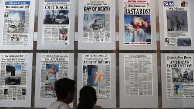 ¿En qué lugar del mundo estabas cuando ocurrieron los sucesos del 9/11?