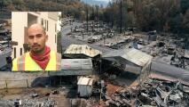 Hombre que quemó un cuerpo provocó el incendio Markley