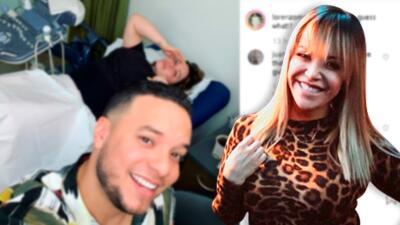 Tras anuncio de embarazo de Jacqie, Lorenzo desata especulaciones con esta foto de Chiquis en el hospital