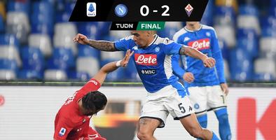 Napoli vuelve a caer en casa; Chucky jugó 30 minutos