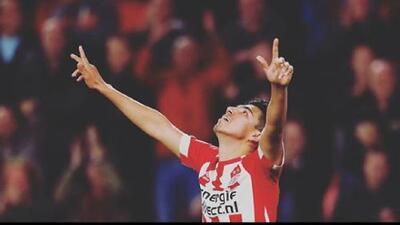 La asistencia de Erick Gutiérrez para el triunfo del PSV