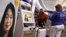 Sin mostrar ID ni pase de abordar: la tecnología lectora de rostros a prueba en aeropuertos