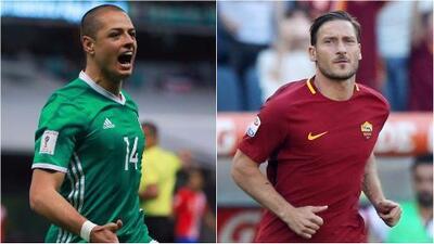 'Chicharito' Hernández y Francesco Totti conmocionaron las redes sociales con sus mensajes