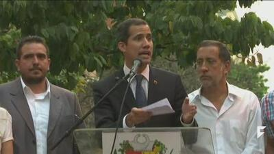 The Maduro regime bars opposition leader Juan Guaidó from holding public office