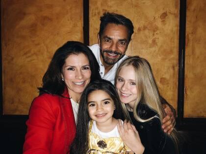 En estos días, el actor mexicano la volvió a ver y junto a su familia compartió con ella, recordando las épocas mientras hacían la película.