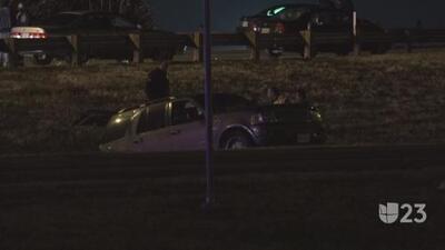 Un muerto y una mujer herida tras un accidente de tráfico en Oak Cliff
