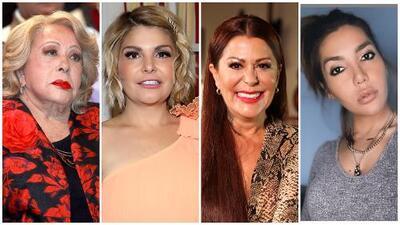 Interpretar a Silvia Pinal hace creer a Itatí Cantoral que hay solución en el pleito de Alejandra Guzmán y su hija