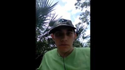 """""""Todos van a morir"""": perturbadores videos del atacante de Parkland explicando cómo haría la masacre"""