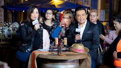 Raúl Brindis transmitió desde El Mercado en San Antonio junto a Despierta América