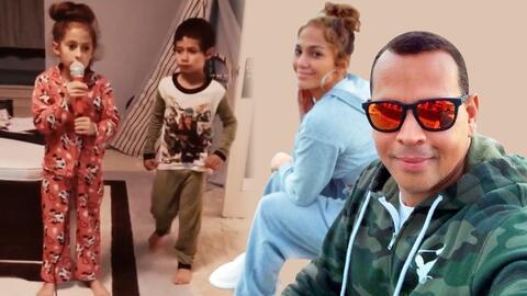 Mientras Jennifer Lopez presume el talento de sus hijos, Álex Rodriguez revela cómo fue la primera cita con ella