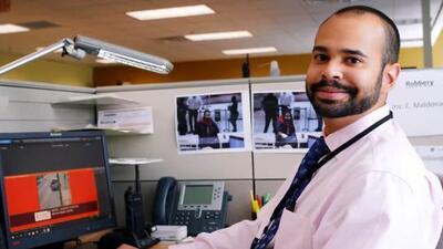 Reconocen a policía hispano como Investigador del Año en Atlanta