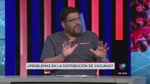 El general Reyes y Carlos Mellado responden a los problemas de distribución de la vacuna del coronavirus en la isla