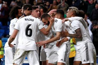 En fotos: Real Madrid la pasó mal pero logró ganarle al Huesca en el Santiago Bernabéu