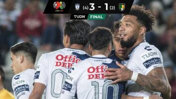 Con hat-trick de Kazim Richards, Pachuca vence a Venados y avanza en Copa MX