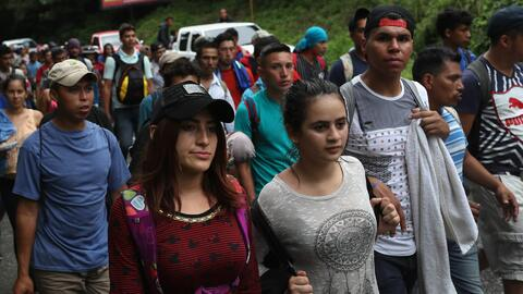 Un grupo de unos 2,000 migrantes en Centroamérica se estaría preparando para partir rumbo a EEUU