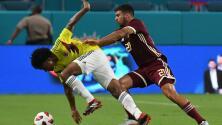 Cuadrado y Ospina, satisfechos tras el primer examen post mundial de Colombia