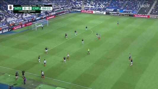 Resumen del partido Monterrey vs Atlético Pantoja