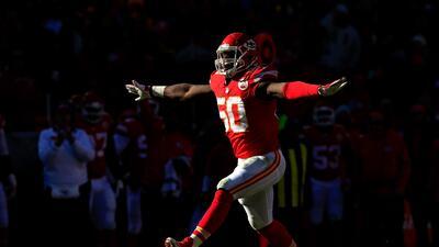 Justin Houston: Los Chiefs tienen a la mejor pareja de cazadores de cabezas