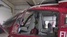 Servicios de rescate y transporte aéreo del Memorial Hermann son trasladados de Pearland a Angleton