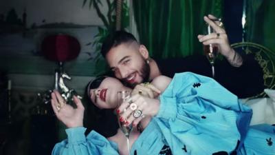 "Madonna and Maluma drop new ""Medellín"" video"
