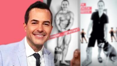 """Entre bromas y memes, Carlos Calderón cuenta que se recupera del pie """"pasito a pasito"""" y con zapatos altos"""