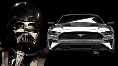 La máscara de Darth Vader inspiró el diseño del Ford Mustang 2018