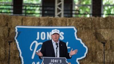 Acusan a Donald Trump de oportunista