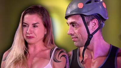 Ingrid demostró su talento como actriz al engañar con estas lágrimas a Mauricio