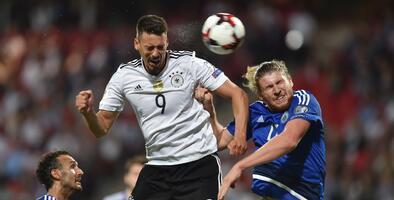 Alemania agranda su pleno con goleada sobre San Marino