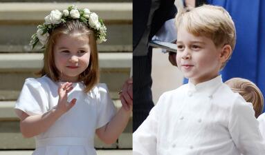 ¿Se robarán la boda? Los príncipes George y Charlotte serán protagonistas en las nupcias de Eugenie de York