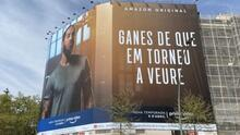Sergio Ramos copia Laporta y ubica una pancarta en Barcelona