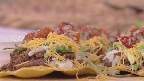 Preparamos estas deliciosas 'Tostadas Tex-Mex' para rendir homenaje a la vida de Selena