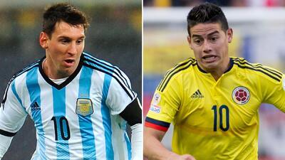 Previo Argentina vs. Colombia: Ambos buscan recuperar el gol y pasar a semifinales