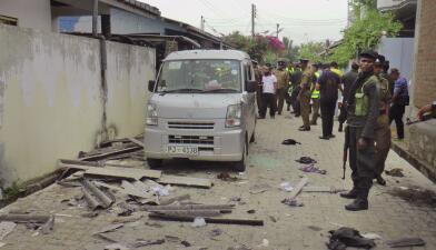 Fotos: Al menos 15 muertos deja una sangrienta redada de las fuerzas de seguridad en Sri Lanka