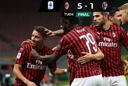 ¡Se acerca a Europa! Milan humilla al Bologna y desplaza al Napoli
