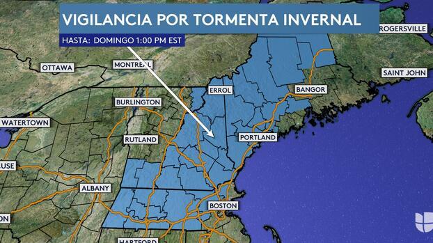 Una tormenta del nordeste podría convertirse en 'ciclón bomba' dejando grandes nevadas en la Costa Este