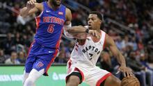 Raptors vence a Pistons con triple doble de Lowry