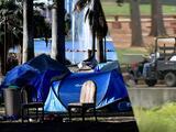 Recogen más de 35 toneladas de basura tras limpieza en Echo Park Lake