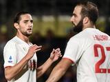 Higuaín y Rabiot no han reportado con la Juventus