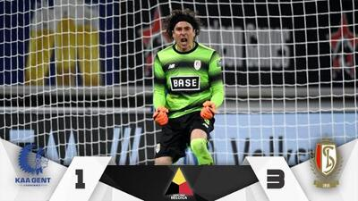 Ochoa y el Standard vencen al Gent y se acercan a la Champions League
