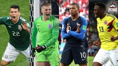 Los mejores jugadores jóvenes del Mundial de Rusia 2018