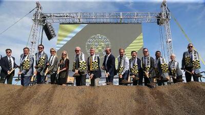 Columbus Crew inicia construcción de su nuevo estadio tras emotiva ceremonia