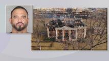 Presentan cargos contra sospechoso de provocar incendio en Mason